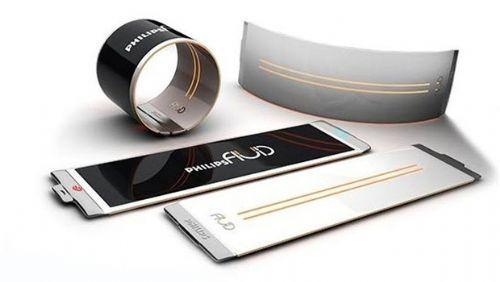 Gelecekte Cep Telefonları Böyle Olacak