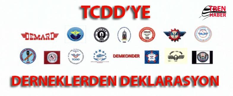 15 Dernekten TCDD Genel Müdürlüğüne Deklarasyon