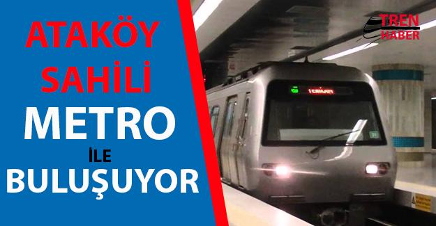 Ataköy Sahil' de Metro Heyecanı