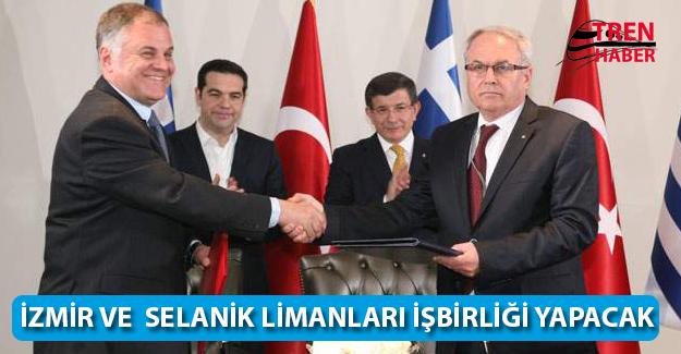 İzmir ve Selanik Limanları İşbirliği Yapacak