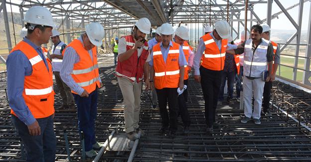 TCDD Genel Müdürü İsa Apaydın Ankara Sivas Hızlı Tren Hattını İnceledi