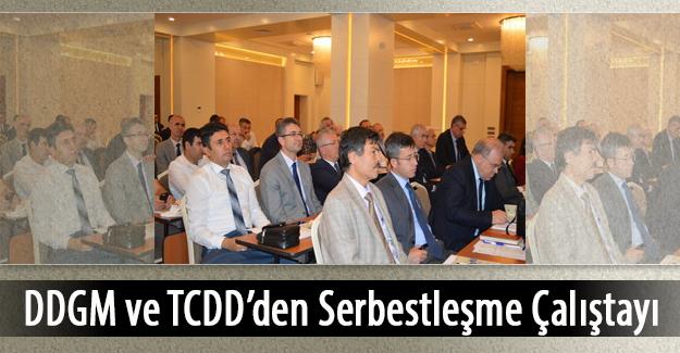 DDGM ve TCDD den serbestleşme çalıştayı