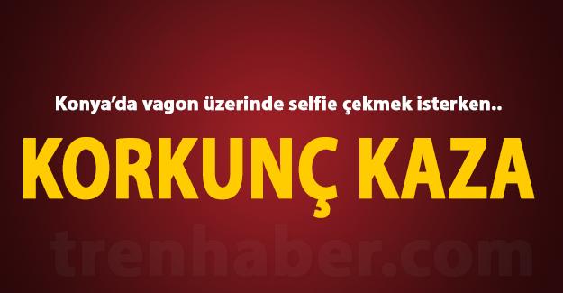 selfie konya tren