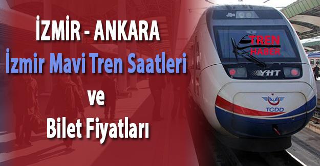 İzmir Eskişehir İzmir Mavi Tren Saatleri ve Ücretleri 2017 Güncel
