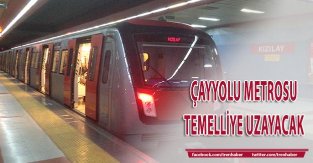 Çayyolu Metrosu Temelli'ye uzayacak