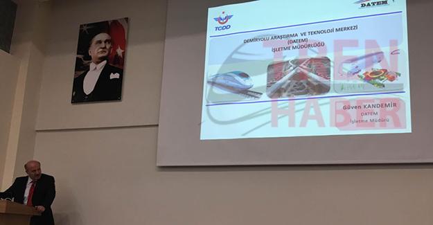 DATEM ve Türkiye'de Demiryollarının Gelişimi Paneli Yapıldı