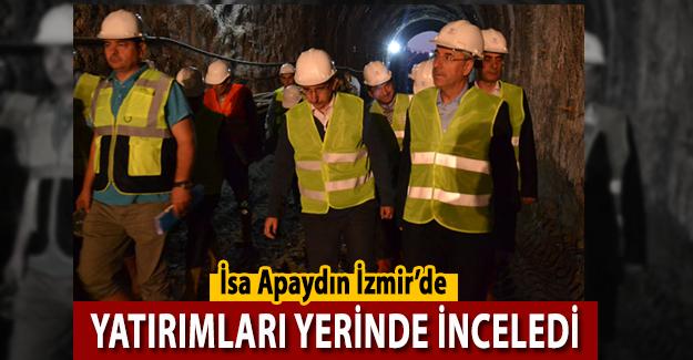 TCDD Genel Müdürü İsa Apaydın İzmir'de Yatırımları İnceledi