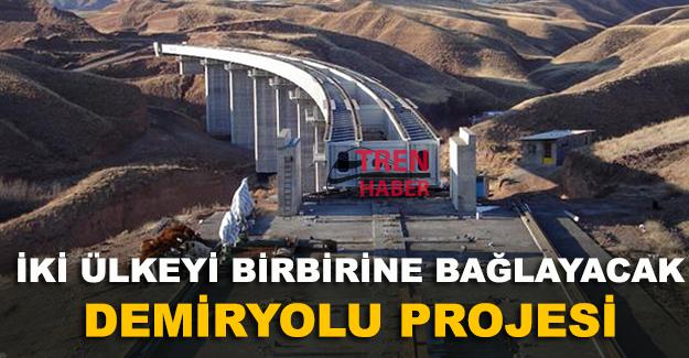 Azerbaycan İran demiryolu projesinde Bakü tarafında çalışmalar bitti