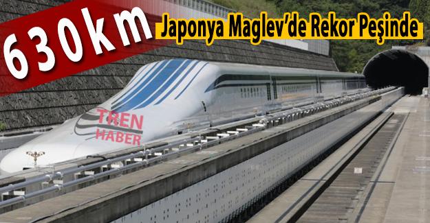 Japonya Maglev'de Rekor Peşinde