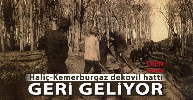 """Tarihe vefa projesi """"Haliç-Kemerburgaz dekovil hattı"""" ihalesi 13 Ocak 2017'de"""
