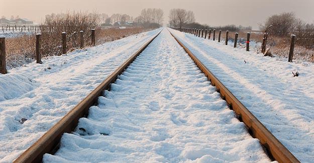 BTK Demiryolu Projesi -30 derece dahi devam ediyor