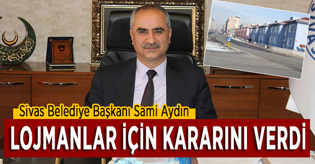 Sivas'ta TCDD lojmanları hakkında karar verildi!