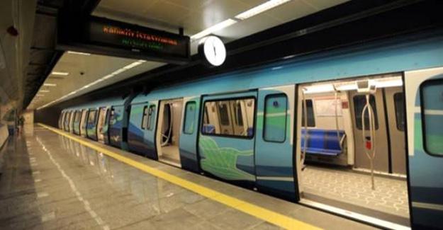 İstanbul metroda intihar girişimi!