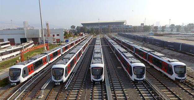 İzmir metrosuna 40 yeni set geliyor!