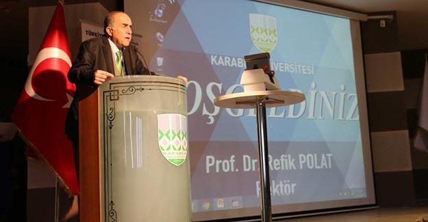 Raylı Sistemlerde Üst Yapı Semineri Karabük Üniversitesinde Gerçekleştirildi