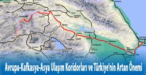 Avrupa-Kafkasya-Asya Ulaşım Koridorları ve Türkiye'nin Artan Önemi Konferansı Kars'ta Yapıldı