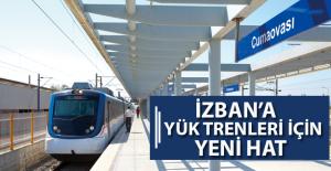 İZBAN Hattına Yük Trenleri İçin Yeni Hat Yapılacak