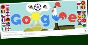 Google Fransa Euro 2016'ya Özel Doodle