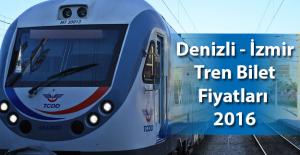 Denizli Nazilli Aydın Söke İzmir tren bilet fiyatları 2017