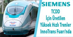 TCDD için üretilen yüksek hızlı tren InnoTrans 2016 Berlin Fuarı'nda