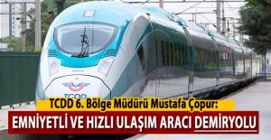 Hızlı tren geleceğin en hızlı ve en emniyetli ulaşım aracı