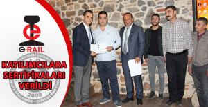 e-RAIL Projesinde Katılımcılara Sertifikaları Verildi