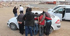 Konya'da ray çalan hırsızlar yakalandı