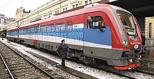 Kosova - Sırbistan arasında tren gerginliğinde savaş tehdidi