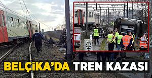 Belçika'da Yolcu Treni Raydan Çıktı! Bir Ölü