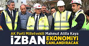 """Ak Parti Milletvekili Kaya: """"İZBAN ekonomiyi canlandıracak"""""""