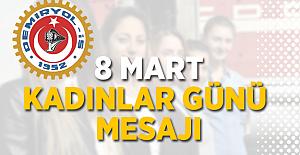 Demiryol-İş'ten 8 Mart Dünya Kadınlar Günü Mesajı