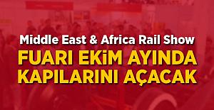 Middle East & Africa Rail Show Ekim ayında Kahirede yapılacak