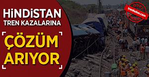 Hindistan Tren Kazalarına Çözüm Arıyor