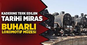 Kaderine Terk Edilen Tarihi Miras! Çamlık Buharlı Lokomotif Müzesi
