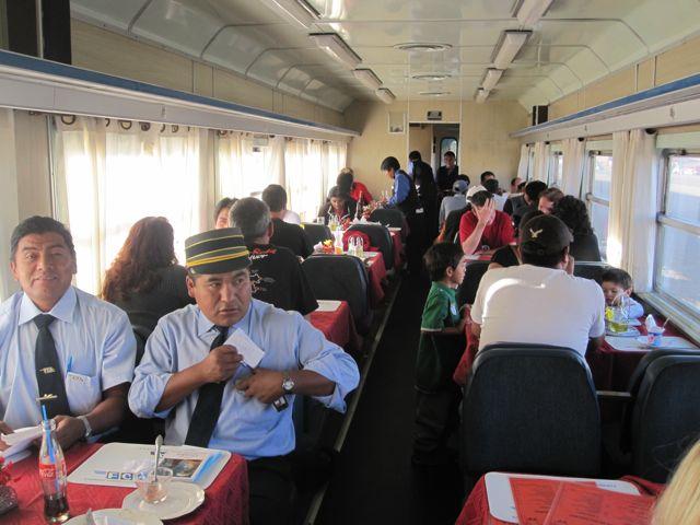 4200 metre yükseklikte tren yolculuğu