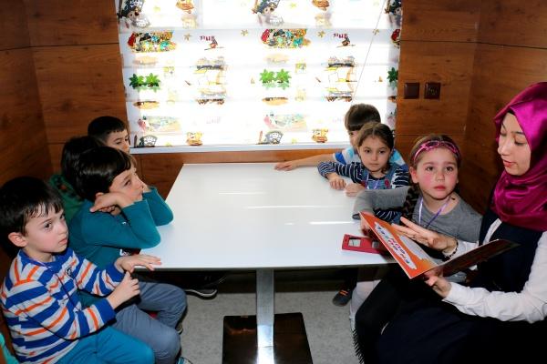 Çankırı'lı Çocuklar Tren Kütüphane'yi Çok Sevdi