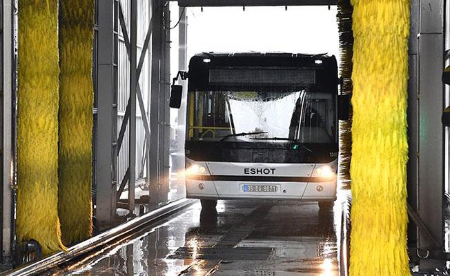 İzmir Otobüs Su Tasarrufu