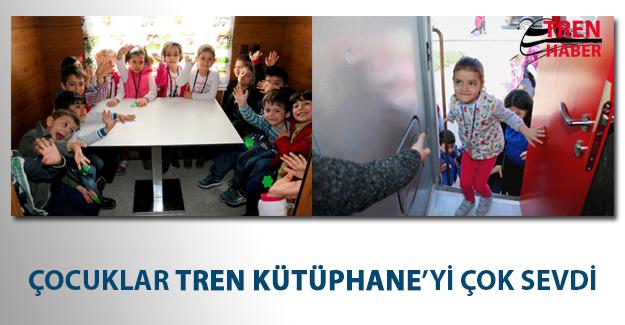 Çocuklar Tren Kütüphane'yi Çok Sevdi