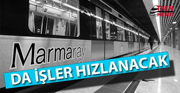 Marmaray'da İşler Hızlanacak