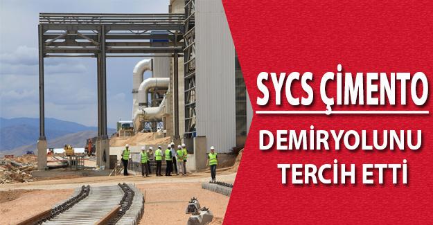 SYCS Çimento Demiryolunu Tercih Etti