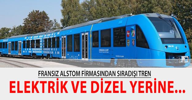 Alstom'dan Sıradışı bir tren elektrik ve dizel yerine...