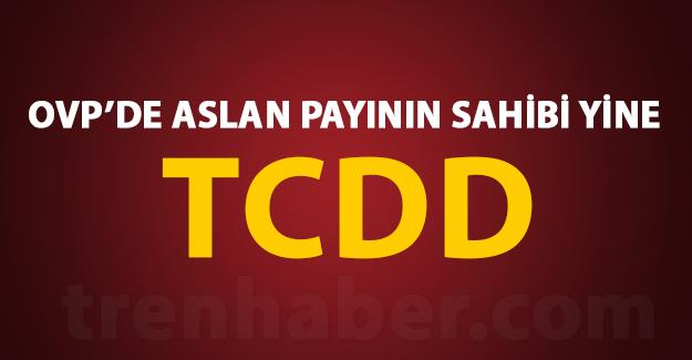OVP'de Aslan payının sahibi yine TCDD