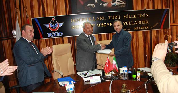 Türkiye ve İran demiryolu heyetlerinin 35'inci toplantısı Malatya'da yapıldı