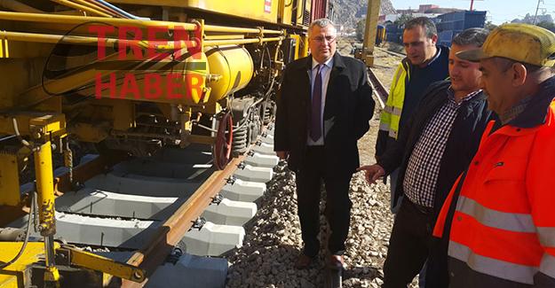 Ankara Afyon Hızlı Tren Hattında Çalışmalar Devam  Ediyor