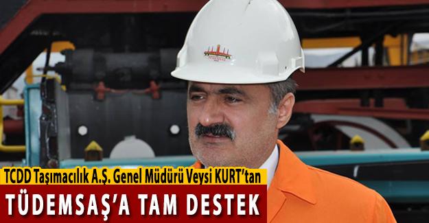 TCDD Taşımacılık Genel Müdürü Kurt'tan TÜDEMSAŞ'a Tam Destek