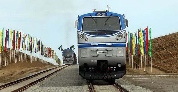 Türkmenistan - Afganistan - Tacikistan demiryolu hattı açıldı
