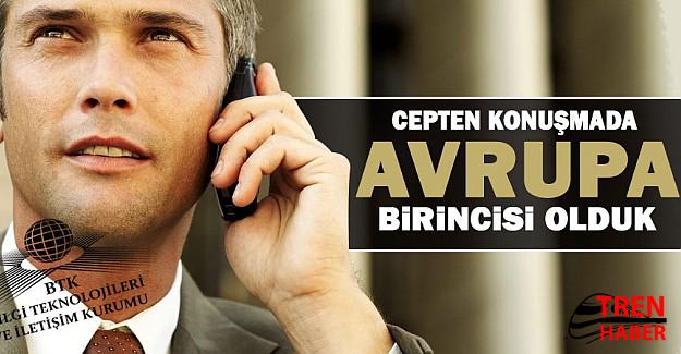 Türkiye cep iletişimde Avrupa ortalamasının üstünde