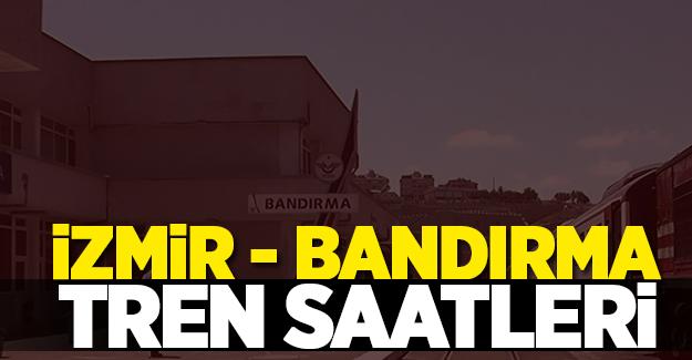 İzmir Bandırma Tren Saatleri 2017 GÜNCEL