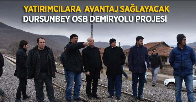 Dursunbey OSB'ye, Gazellidere istasyonundan iltisak hattı projesi