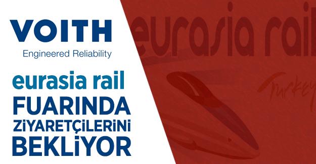 Voith Eurasia Rail 2017 Fuarında ziyaretçilerini bekliyor